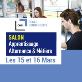 Campus CESI Arras au Salon de l'Apprentissage, Alternance et Métiers